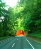 Visão de túnel Imagem de Stock Royalty Free