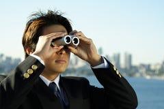 Visão do negócio Imagem de Stock