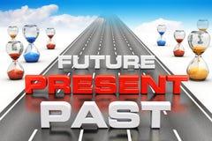 Visão do negócio e conceito da perspectiva Imagens de Stock Royalty Free