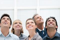 Visão e aspirações do negócio fotografia de stock royalty free
