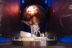 Visões da terra, museu da história natural foto de stock royalty free