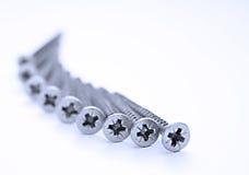 Vis d'acier inoxydable Image stock