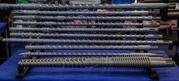 Vis de moulage par injection photographie stock