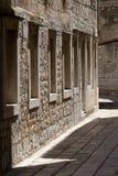 Vis narrow street, island vis in Croatia Royalty Free Stock Image