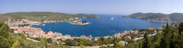 Vis Town, Croatia Stock Photos