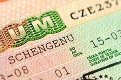 Visa Stock Image