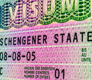 visa Images libres de droits