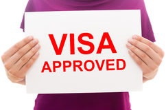 Visa approved Royalty Free Stock Photos