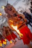 Visa att rituellt avfyra Royaltyfri Bild