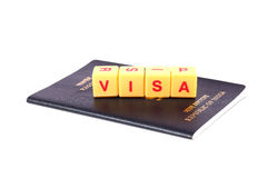 Visa Royalty Free Stock Photos