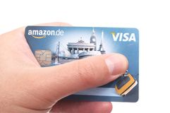 VISA card Stock Photo