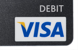 Visa Debit Royalty Free Stock Photos