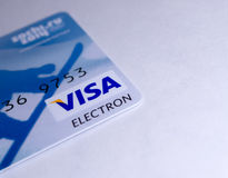 Visa Electron Card Stock Photos