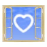 visa fönstret Royaltyfri Fotografi