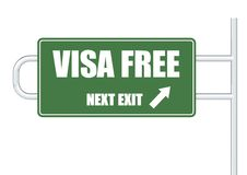 VISA free Stock Photo