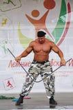 Visa gruppen den idrotts- Petersburgen Arkivfoto