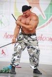 Visa gruppen den idrotts- Petersburgen Arkivbild