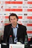 Visa Koiso-Kanttila de réalisateur à la conférence de presse photo stock