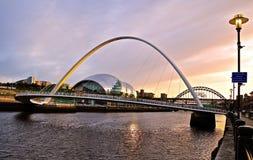 Visa mannen, Newcastle arkivbilder