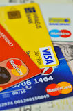 Visa, Master Card, Maestro Royalty Free Stock Photos