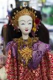 Visa modelldramahjältinnan för dockan (dockan) Arkivbilder