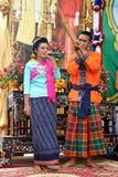 Visa på etapp om sjunga och dansen Royaltyfri Foto