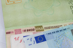 Visa Royalty Free Stock Photo