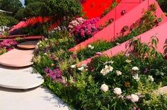 Visa trädgårds- kungligt trädgårds-samhälle Royaltyfri Bild