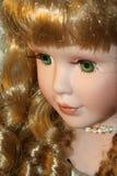 Visage 1 de poupée Photographie stock