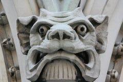 Visage animal gothique Photos libres de droits