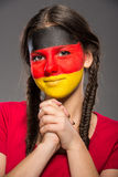 Visage Art indicateurs Photos libres de droits