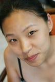 Visage asiatique Image stock