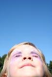 Visage au Sun Images libres de droits