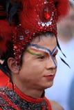Visage coloré Image stock