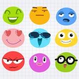 Visage d'émotion Image libre de droits