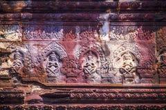 Visage d'Angkor Wat photographie stock libre de droits