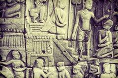 Visage d'Angkor Wat photo stock