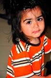 Visage d'enfant Photo libre de droits