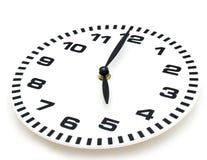 Visage d'horloge Photo libre de droits