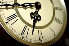 Visage d'horloge Photos libres de droits