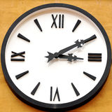 Visage d'horloge antique Photo stock