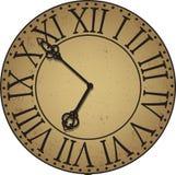 Visage d'horloge antique illustration de vecteur