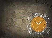 Visage d'horloge avec des chiffres Photo libre de droits