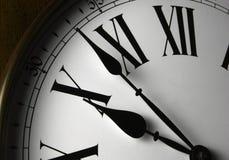 Visage d'horloge de mur Photo stock
