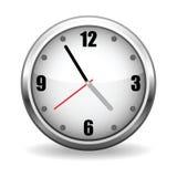 Visage d'horloge de vecteur Images stock