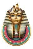 Visage d'un pharaon Photographie stock libre de droits