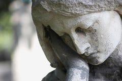 Visage d'une femme (statue) Photo libre de droits
