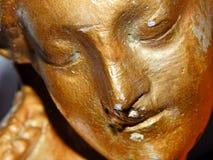 Visage d'une statue Photos libres de droits