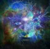 Visage d'univers Image libre de droits