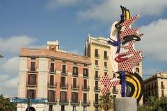Visage de Barcelone Image libre de droits